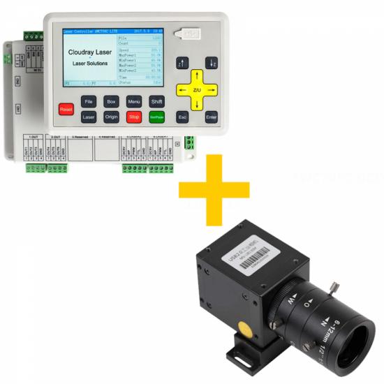 Kit - Placa Mãe, Painel e Câmera - Trocen AWC708C - Corte Contorno Automático - CCD