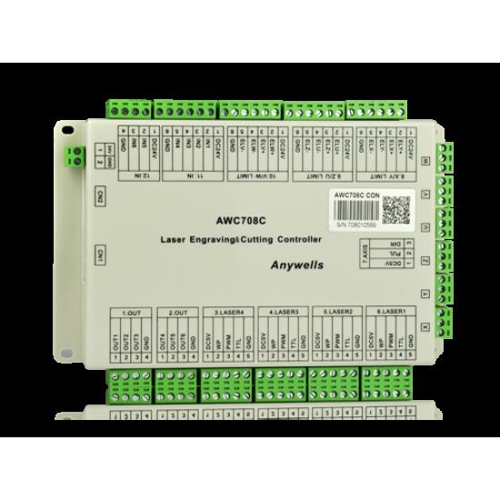 Kit - Placa Mãe, Painel e Controladora - Trocen AWC708C