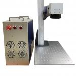 Máquina Laser Fibra Raycus Ruijie Portátil 30W 30x30cm - Gravação de Metal