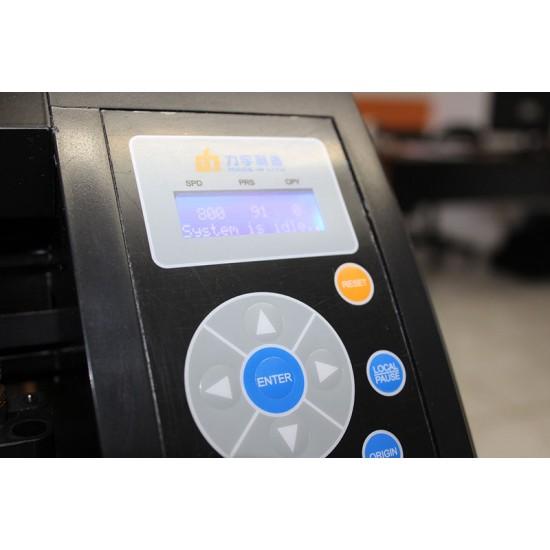 Plotter de Recorte Liyu TCA Series 134cm de Boca - Corte de Contorno Automática com Flexi 12 - Bivolt Preta