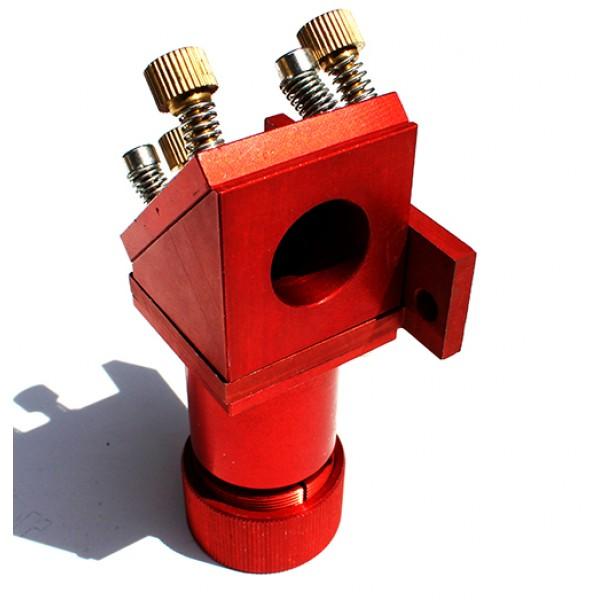 Cabeçote Vermelho - Espelho 25mm, Lente 20mm