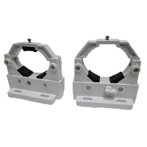 Suporte de Tubo de Laser - Branco Automático Kit Com 2 Peças 90mm